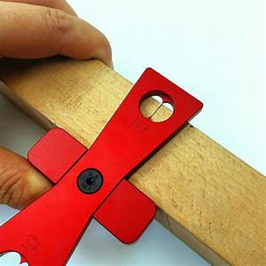 2pcs Diy Woodworking Dovetail Marker Hand Cut Wood Joints