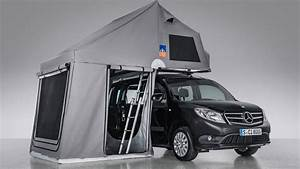 Mercedes Citan Tourer : mercedes citan tourer with 3dog camping topdog roof tent youtube ~ Medecine-chirurgie-esthetiques.com Avis de Voitures