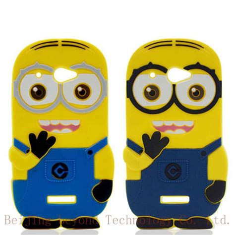 sales 3d minions phone silicone soft cover for htc butterfly droid dna x920e 920 dual