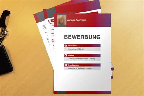 bewerbungsvorlage boxes