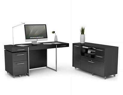 Desk Office Furniture Computer Format Credenza Storage