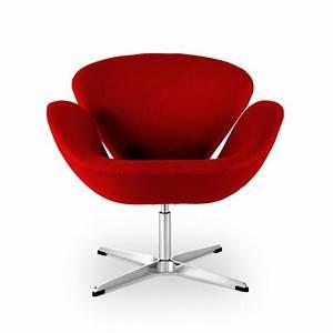 Stuhl Arne Jacobsen : arne jacobsen schwan stuhl in rot 452 00 ~ Michelbontemps.com Haus und Dekorationen