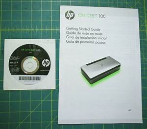 Hp Officejet 100 Printer Getting Started Guide Manual