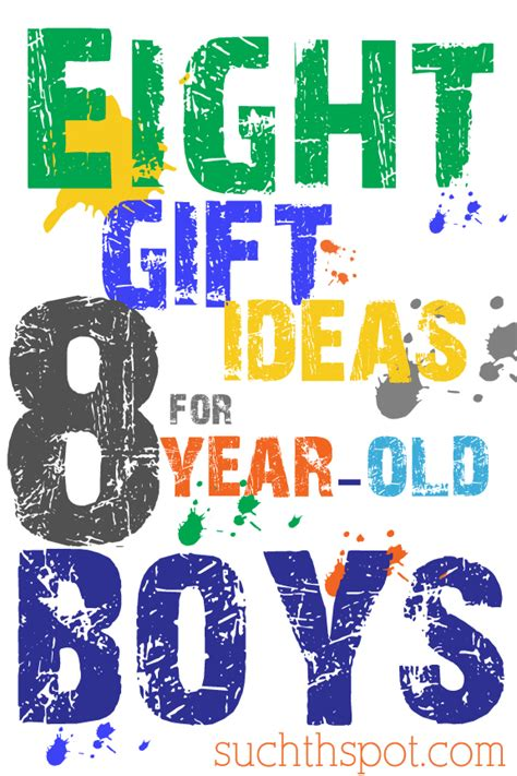 gift ideas for boys 8 10 years old such the spot
