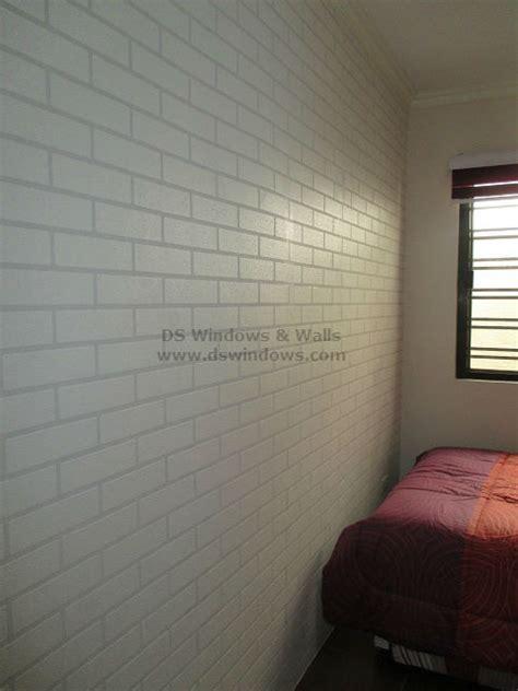 brick effect vinyl wallpaper design  style ideas