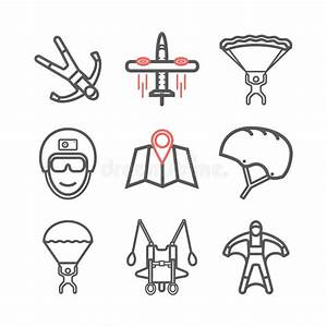 Skydiving Stock Illustrationer  Vektorer   U0026 Clipart