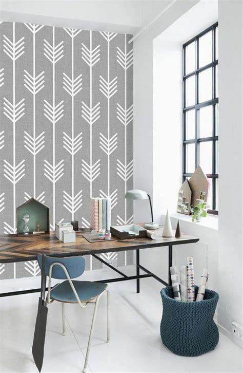 papier peint leroy merlin chambre le papier peint géométrique en 50 photos avec idéеs