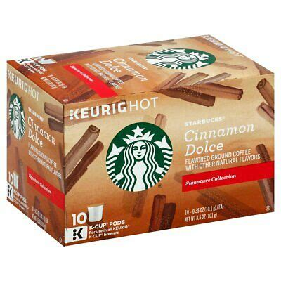 The flavors in your cup. Starbucks Cinnamon Dolce Flavored Blonde Light Roast, K ...