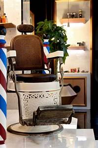 Barber shop concept chair for durstone cevisama 2013 for Barber shop chairs design