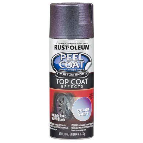 rustoleum color shift rust oleum automotive 11 oz metallic color shift peel