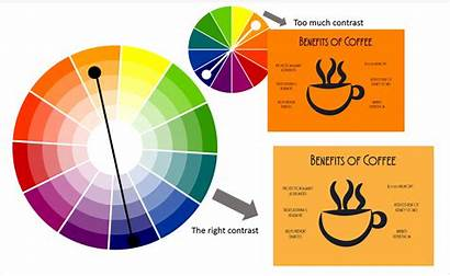 Scheme Complementary Wheel Powerpoint Colors Contrast Orange