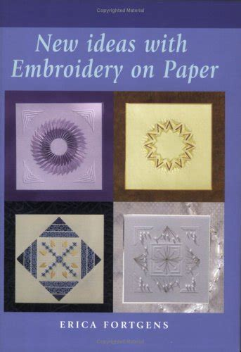 ideas  embroidery  paper  erica fortgens