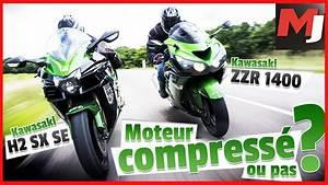 Moto Journal Youtube : alors a pousse kawasaki zzr1400 vs h2 sx moto journal youtube ~ Medecine-chirurgie-esthetiques.com Avis de Voitures