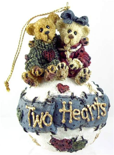 boyds bears christmas ornament george  gracie