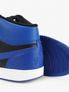 Buy Nike Blue Ebernon Mid Shoes For Men Online In India