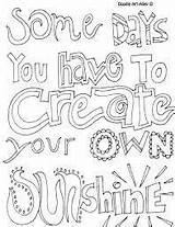 Coloring Quotes Printable Quote sketch template