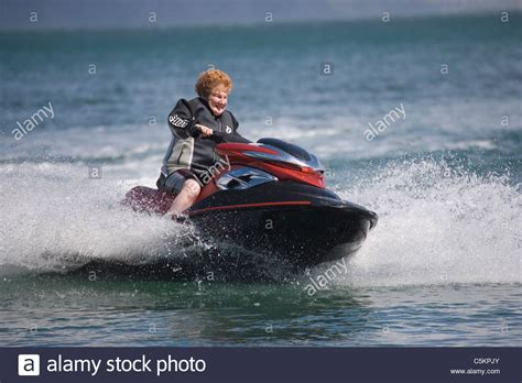 Old Person Water Skiing Stock Photos & Old Person Water