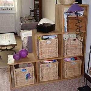 Separation Salon Chambre : enchanteur meuble de s paration cuisine salon et saparer ~ Zukunftsfamilie.com Idées de Décoration