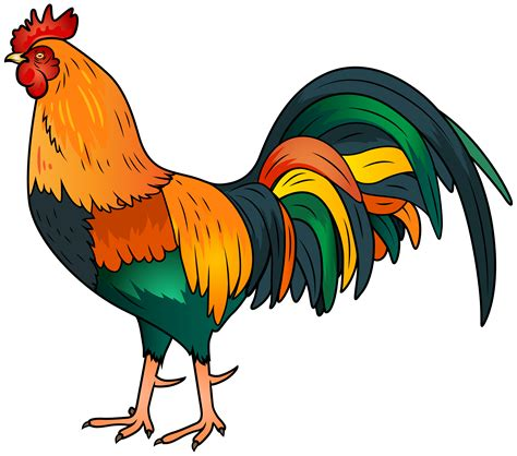 Rooster Clipart Hen And Rooster Clip Free Clipart Images Clipartix