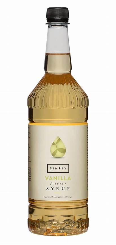Vanilla Coffee Pancake Syrup Simply Luxury Bottle