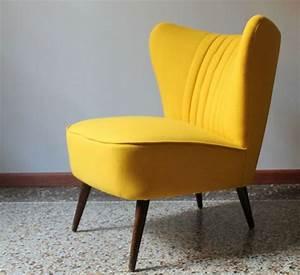 Petit Fauteuil Jaune : fauteuil jaune la couleur intemporelle et tendance ~ Teatrodelosmanantiales.com Idées de Décoration