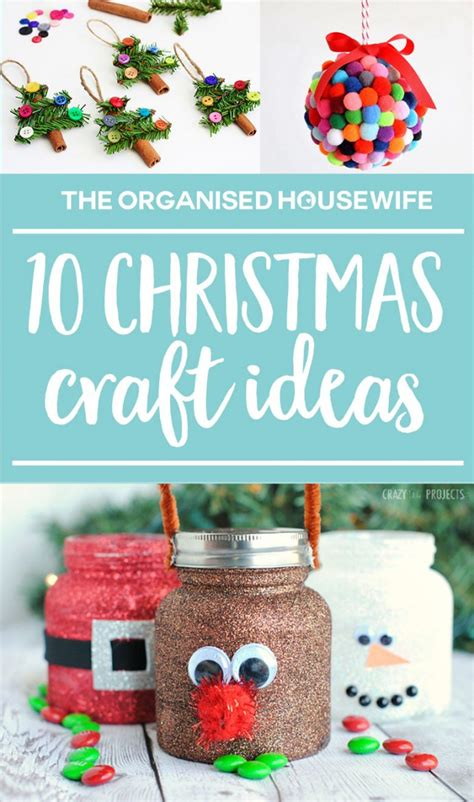 Kids' Christmas Craft Ideas  The Organised Housewife