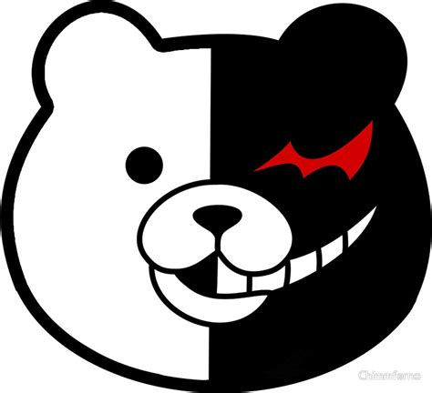 home design and decor reviews quot danganronpa monokuma quot stickers by chimmferno redbubble