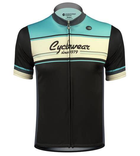 bike wear atd designer 1979 retro active cyclewear biking jersey in