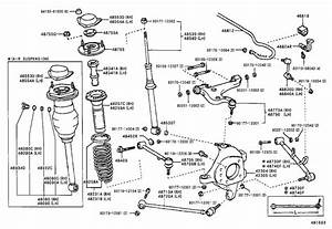 Lexus Ls 430 Arm Assembly  Rear Suspension  No  2 Right