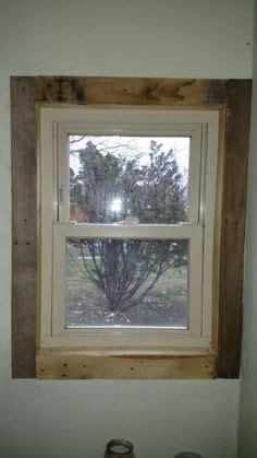 pallet window trim   interior window trim house