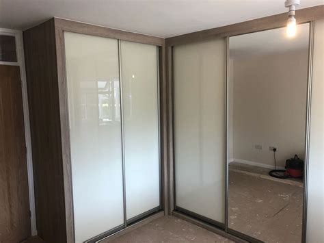 shaped fitted wardrobe  cambridgeshire