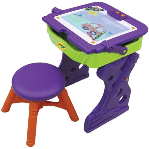 Crayola Creativity Wooden Table And Chair Set by Crayola Desk And Chair Whitevan