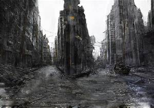 Ruined City by OlegDaniel on deviantART