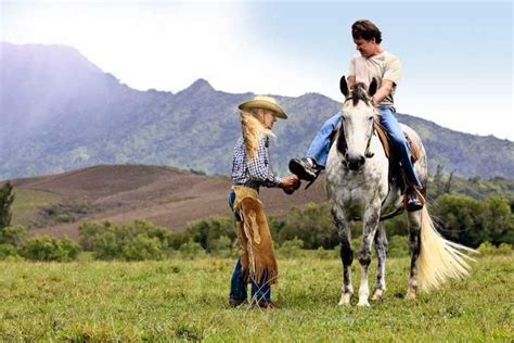horseback kauai riding ride hawaii princeville shore north activities paniolo glide tours private tour