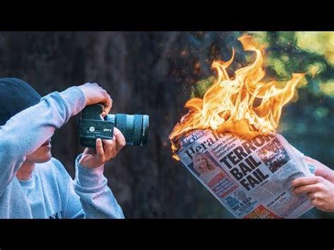 blazing fire photography youtube