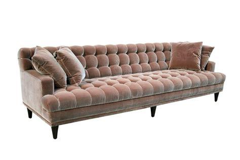 mid century velvet sofa mid century tufted velvet sofa at 1stdibs