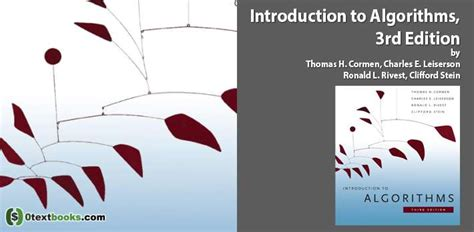 Introduction to Algorithms 3rd Edition PDF | Textbooks