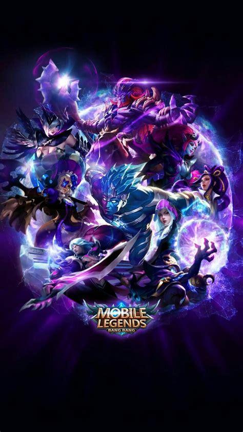 anime mobile legend mobile legend wallpaper hd blue team mobile