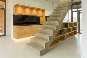 Möbel Loft Essen : unter der betontreppe eine ma gefertigte loft k che in dresden ~ Orissabook.com Haus und Dekorationen