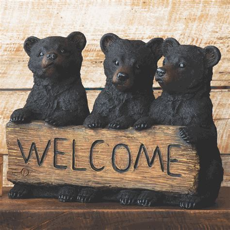 Three Bears Welcome Sign