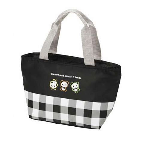 sac isotherme repas bureau sac déjeuner isotherme à carreaux avec des pandas sacs