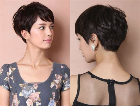 Vibrant Layered Pixie Haircuts 2017