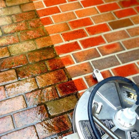 how to pressure wash your concrete or brick driveway