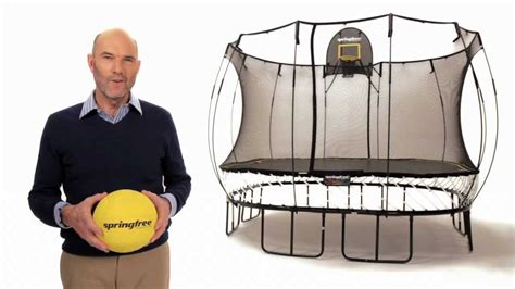 trampoline accessory springfree flexrhoop youtube