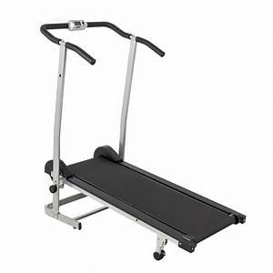 Best Choice Sky 1869 Manual Treadmill W   2 Level Incline