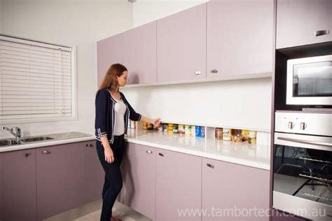 Appliance Cupboards by Tambortech Door Secret Splashback Pantry Cupboard