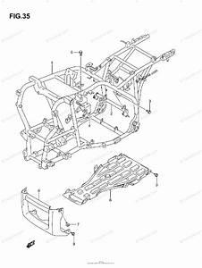 Suzuki Atv 2007 Oem Parts Diagram For Frame