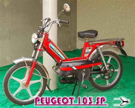 Peugeot 103 Sp by Peugeot 103 Sp Original 1983 103 World By C Mouchet