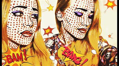 Стоковые векторные изображения Поп арт макияж . Depositphotos