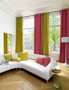 Rideaux Modernes Salon Donnez Un Ct Cocon La Pice